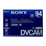 Новые видеокассеты DVCAM HDV Sony PDV-94N/3 есть 300 штук