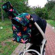 Муфта для рук,  рукавицы на коляску