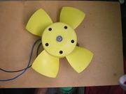 Вентилятор радиатора автомобиля ВАЗ.