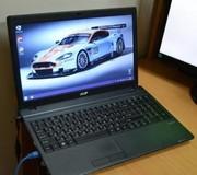 Ноутбук Acer TravelMate 5740 (4ядра,  4 гига,  тянет танки).