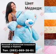 Большой и маленький плюшевый медведь,  подарок в Украине