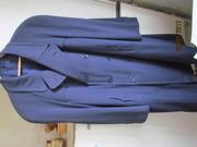 Двубортное мужское демисезонно-зимнее пальто,  с подстежкой,  р.52-54.