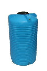 Емкость вертикальная на 2000 литров,  пищевая бочка пластиковая,  бак дл