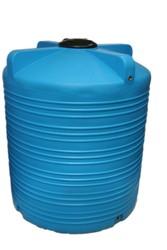 Емкость вертикальная на 5000 литров,  пищевая бочка пластиковая,  бак дл