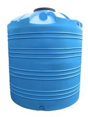 Емкость вертикальная на 10000 литров,  пищевая бочка пластиковая,  бак д