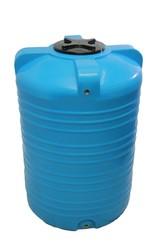 Емкость вертикальная на 1000 литров пищевая бочка пластиковая,  бак для