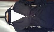 блуза черная коттон