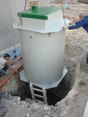 Автономная канализация дачная,  промышленная до 1000 человек