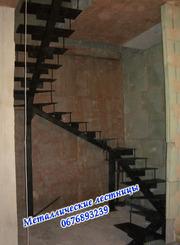 Лестница (металический каркас)