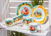 Красочный набор посуды для детей Villeroy & Boch