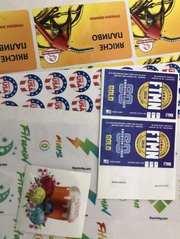 Печать наклеек,  стикеров Киев на самоклеющихся бумагах,  пленках