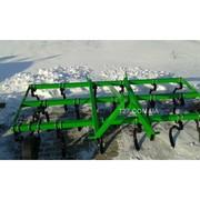 Культиватор пружинный сплошной обработки 2, 5 м навесной (Польша)