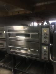 Продам б у  печь  для пиццы OEM DB12.35-S с подставкой