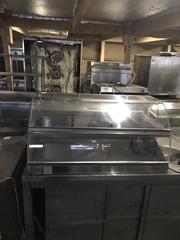 Продам б/у настольную тепловую витрину Roller Grill vhc1000 с гарантие