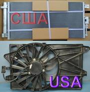 Радиатор,  рычаг фиат 500 США,  USA установочная панель,  фара,  крыло