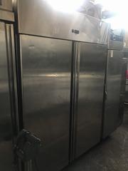 Бу шкаф холодильный Equipe eqr 1400p двухдверный с гарантией