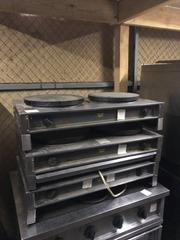 Продам бу блинницу двух постовую Roller Grill для кафе,  бара,  столовой