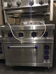 Бу промышленная плита на 4 конфорки ABAT ЭП-4ЖШ-Э