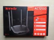 Роутер Tenda AC5 AC1200 двухдиапазонный 2, 4 5 ГГц скорость 1167 Мбит/с