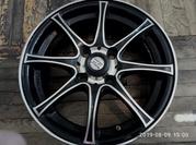 Диски легкосплавные 4 шт R - 14 JP Wheels///5.5JX14H2 ET 35 ,  4x100
