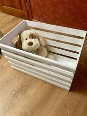 Ящик для іграшок ручної роботи
