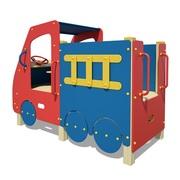 Детские уличные игровые элементы (машинка,  паровозик,  автобус)
