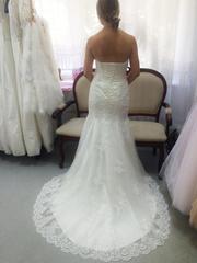 Свадебное платье рыбка Не венчаное После химчистки