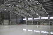Ангар,  склад,  СТО.Монтаж металоконструкцій і сендвіч-панелей.