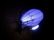 Настенная лампа дирижабль в стиле стимпанк