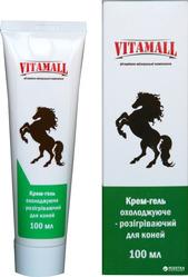 Крем-гель охлаждающе-разогревающий для лошадей VitamAll 100 мл