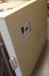 Коробки для отправки картин почтой FedEx,  боксы с двойными стенками