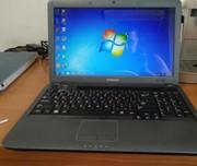Красивый ноутбук Samsung R523 (дота,  танки).