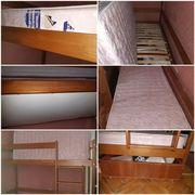 Продам кровать( 2 матраса ортопедические) 1.9×80