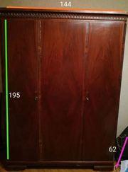 Шкаф для одежды шифоньер сервант с полками и для верхней одежды ссср