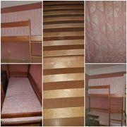 Продам двухярусную кровать( 2 матраса ортопедические) 1.9×80