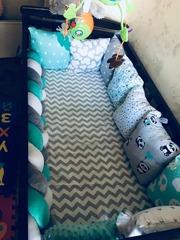 Детская кроватка -маятник
