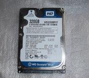 Жесткий диск WD 320GB 2.5