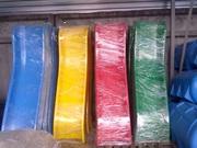 Детская пластиковая горка односкатная 680 мм