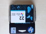 Картридж струйный HP 22 C9352AE color Deskjet Officejet Fax трехцветный