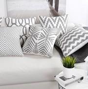 Декоративная подушка (наволочка) Коллекция Prominent Gray