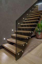 Лестницы,  дерево,  стекло,  ограждения. Изделия от производителя