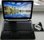 Игровой ноутбук HP 15-n (4 ядра,  4 гига).