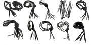 Лот 04-1390 Шнурки чорні KWM (Німеччина)