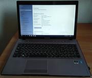 Игровой ноутбук Lenovo Z570 (core i3,  4 гиг,  мощная видеокарта).