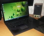 Большой игровой ноутбук Acer Aspire 7739ZG (core i5,  8 гиг).