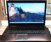 Большой ноутбук Asus X73E (core i5,  8 гиг,  2 часа).
