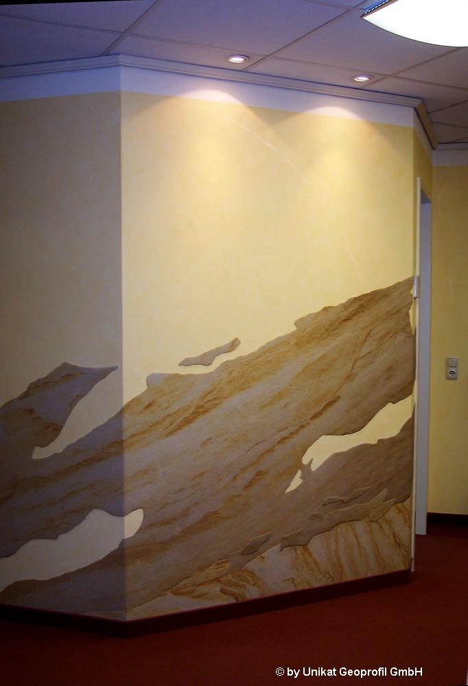 Галерея -Гибкий камень в интерьере - внутренняя отделка -Изображение