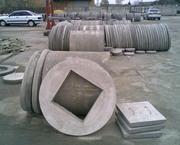 Бетонные кольца для колодцев и канализаций, люки, крышки от производител