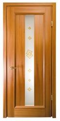 Шпонированные двери Меранти