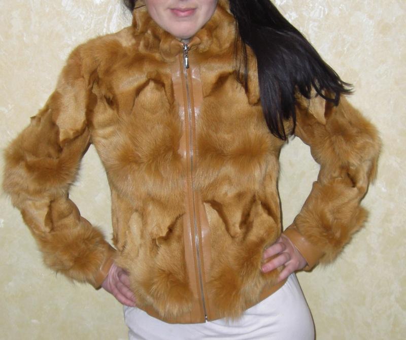 Куртка с искусственным мехом своими руками